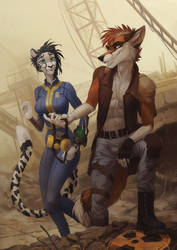 fallout for Aurora and KuzeRedFox by Orphen-Sirius