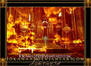 A golden vision of Faith... by iokanaan