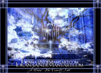 A Winter Blue Vision of Faith by iokanaan