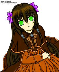 COLORED  Look    Lineart by kuridoki by Amami-1