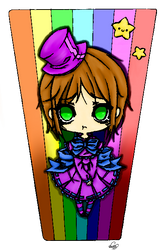 COLORED  Lyli san Artreguest lineart by CookieLin by Amami-1