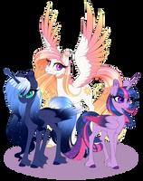 Princesses by PeridotKitty