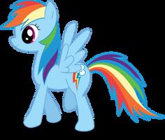 Rainbow Dash by goldenmercurydragon