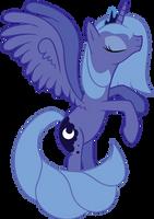 Luna's elegance by goldenmercurydragon