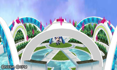 Project Mirai DX - Packaged Stage (MMD Model) by Stewie1000
