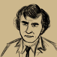 Peter Falk as Lieutenant Columbo by cyberhare