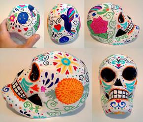 Feliz Dia de los Muertos - Calavera by cyberhare