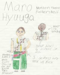 Naruto Child OC: Maro Hyuuga by Blades252