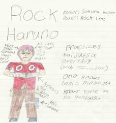 Naruto Child OC: Rock Haruno by Blades252