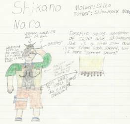 Naruto Child OC: Shikano Nara by Blades252
