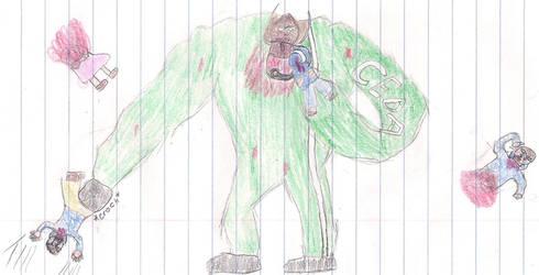 Left 4 Dead OC: T-Rex by Blades252