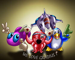 Parodius - From Myth To Laughter by eriscorps