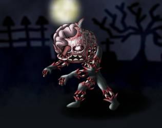 Zombie Stickman by eriscorps