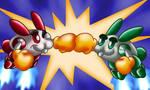 Rabbit Punch-Rabio'n'Lepus by eriscorps