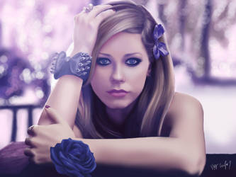 Avril Lavigne - Forbidden Rose Photoshoot by A0LANI