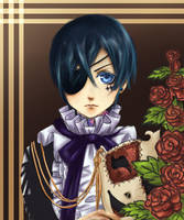 FanArt: Ciel Phantomhive by Heather91