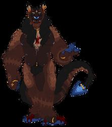 vampire wolf king by Wereprincex