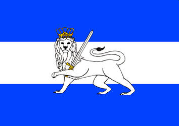 Flag of Oceanian Empire by fantasiaart93
