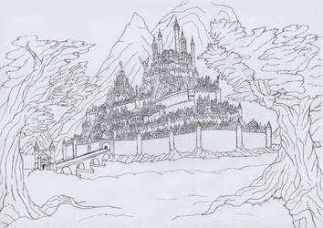 Great City of Drodon by fantasiaart93