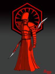 Supreme Leader Snoke guard. by fantasiaart93