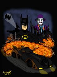 Batman poster by fantasiaart93