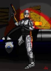 Robocop. by fantasiaart93