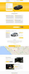 Car Rental Landing Page by themeinjection