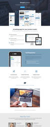 Application Landing Page by Leadinjection by themeinjection