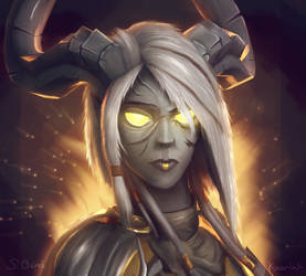 Lightforged draenei model edit thingy by Kaeriah