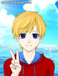 Anime Me by Cole-the-Riolu