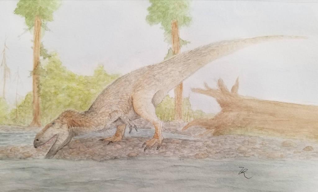 Megalosaurus by zachrobinson
