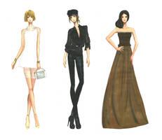 Three rendering by AlyTheKitten