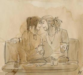 CoffeeShopAU by AlyTheKitten