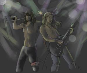 RockStarAU by AlyTheKitten