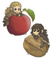 Apple and Walnut by AlyTheKitten