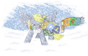 through the blizzard by onkelscrut