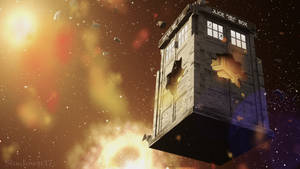 TARDIS Damaged by shadowst17