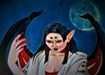 Vampira: Blood Moon submission by professorlongfello