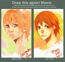 Draw This Again Meme by winterfingers