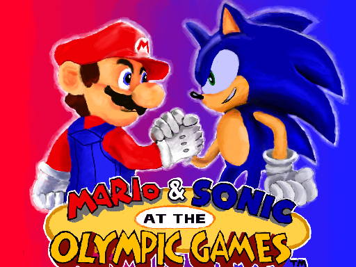 Mario and Sonic At the Olympic Games by 53rdturtle