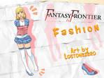 Fantasy Frontier Fashion by lostonezero