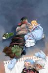 Fantasy Frontier Sketchbook 6 cover :D by lostonezero