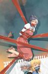 Fantasy Frontier Sketchbook 7 cover :D by lostonezero