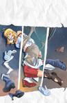 Fantasy Frontier Extra Artbook cover :D by lostonezero
