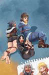 Fantasy Frontier Sketchbook 10-2 cover ^_^ by lostonezero