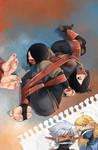 Fantasy Frontier Sketchbook 11 cover ^_^ by lostonezero
