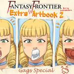 Fantasy Frontier Extra Artbook 2 - cover by lostonezero