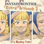 Fantasy Frontier Extra Artbook 3 - Mummies cover by lostonezero