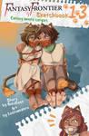 Fantasy Frontier Sketchbook - Iuki and Iko cover by lostonezero