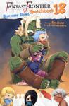 Fantasy Frontier Sketchbook 18 cover by lostonezero